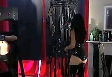 gorgeous goddess miki whips deserving slave