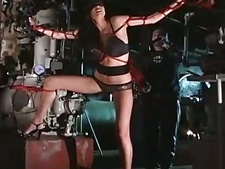 Hot Tera Patrick gets tied up and punished hardcore