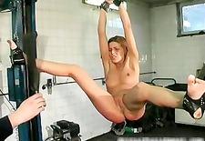 Hard core bondage and brutal punishement part3
