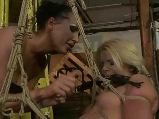 Mistress punishing cute girl