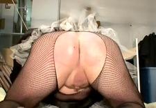 Black Maid Spank - Oct 09