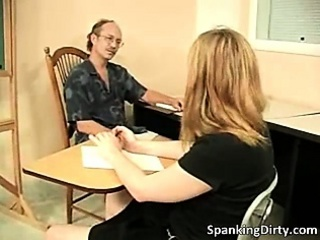 Kinky older dude gets ass spanked hard part5