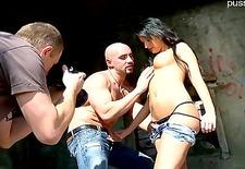 Hot slut  spanking hard