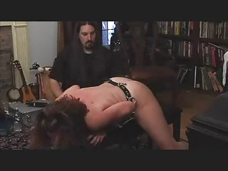 Spanked And Pussy Shocked