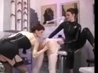Lesbian Titty Punishment