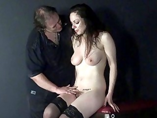 cruel toys and painful orgasm of whipped amateur