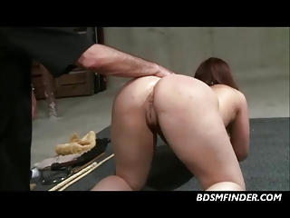 Whipped Caned A Fig Root And Hook In Her Ass