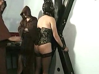 Master teacher spanks beautiful horny slave with nice butt o