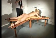 flogging girl hard