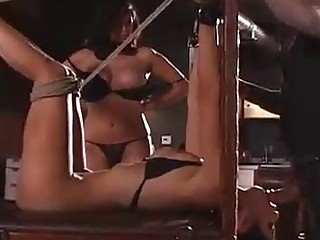 Busty Tera Patrick and her apprentice punishing latina shy love