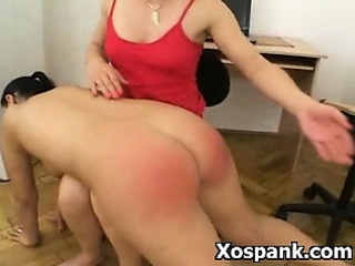 BDSM Spanking Fetish Porn  For Tight Beauty