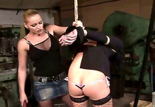 strict and very powerful mistress katia decides to punish her own slave and spanks her sweet ass. the girls have hardcore adventure and both spend perfect time!