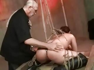 Shibari Rope Bondage And Spanking