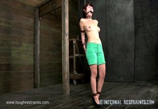 asian slut whipped and punished device bondage restraints