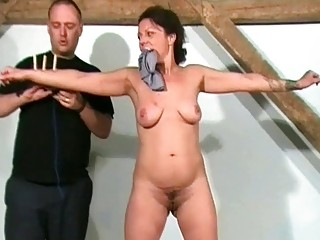 Mature Slaves Sadistic Workout and Punishment