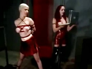 Strict Mistress Punishes Girl!
