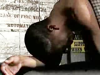 black boy spanked my master