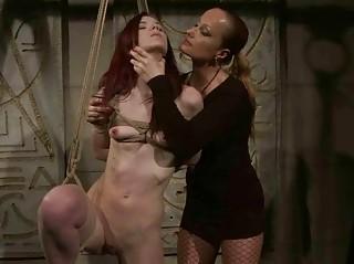 Mitress punishing gorgeous redhead