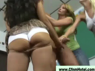 Bad teacher punished by young women