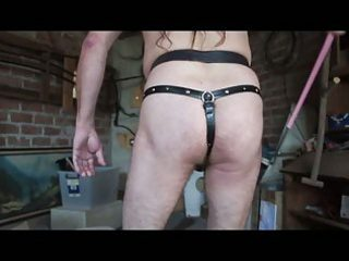 Chastity Slave Whipping