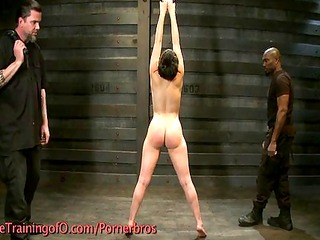 spanking and whipping in the dungeon