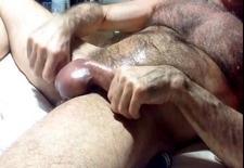 hairy daddy spank
