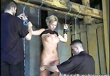 Hard-core bondage and brutal punishement part6