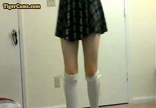 amateur teen self spanking