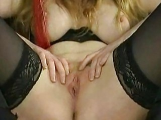 Crying slave with big tits gets spanked and gets clamps with