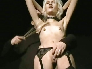 Sadistic Punishment of Blonde UK Slave Wynter