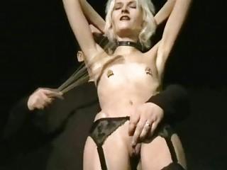 Sadistic Punishment of Blonde UK Slave Wynter