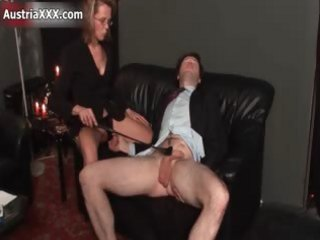 Dirty mature whore goes crazy spanking part4