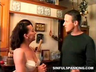 mean spanking fetish