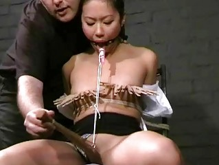 Skinny Asian Teen Slavegirls Harsh Punishment