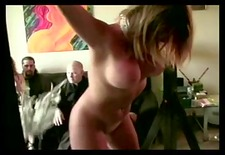 golden-haired in thraldom acquires spanked