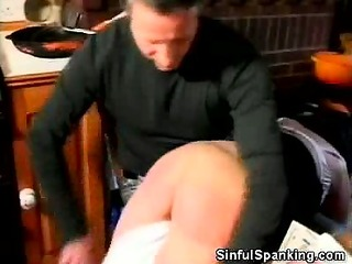 naughty wife steph gets spanked