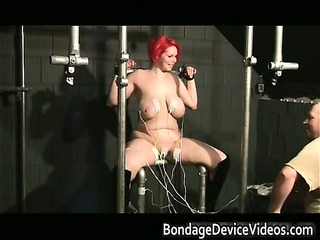 chubby redhead slut with big tits gets part1