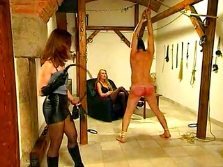 vintage single tail flogging of male slave