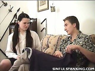 hot ass spanking