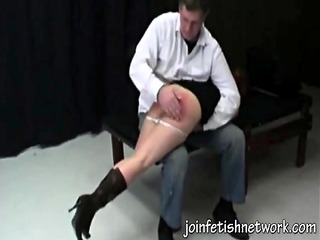 real amateur otk spanking