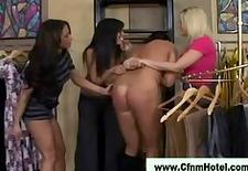 cfnm ladies spanking in the wardrobe