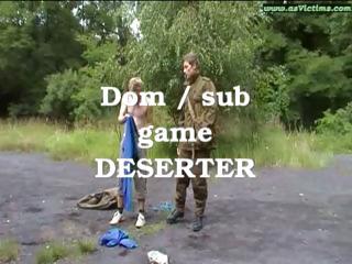 Deserter punished