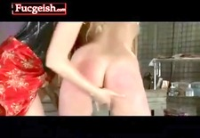 tied up dyke gets whipped and fingered by her mistress video