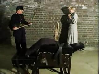 Vintage domination  spanking action