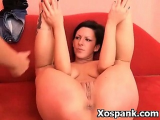 Punishment Loving Chick In Bodacious Fetish Spanking Roleplay