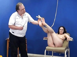 Bastinado foot whipping and soles spanking