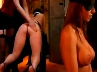 Slave girl spanked with stick whipped in doggy by mistress i