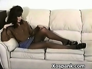 Amazing Babe In Spanking BDSM