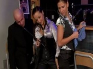 Domina hottie gets nasty with some spanking