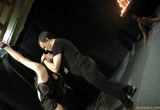 bound slave spanked